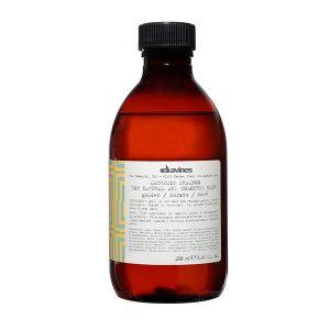 alchemic-shampoo-golden-davines-brush-palm-springs-hair-salon